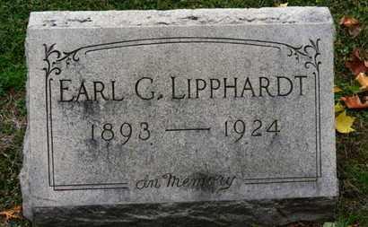 LIPPHARDT, EARL G. - Erie County, Ohio | EARL G. LIPPHARDT - Ohio Gravestone Photos