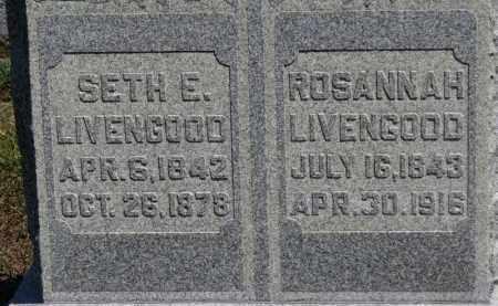 LIVENGOOD, ROSANNAH - Erie County, Ohio | ROSANNAH LIVENGOOD - Ohio Gravestone Photos