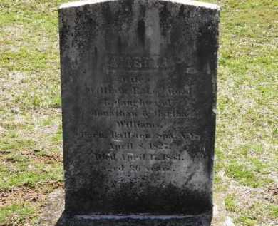 WILLIAMS LOCKWOOD, AMELIA - Erie County, Ohio | AMELIA WILLIAMS LOCKWOOD - Ohio Gravestone Photos