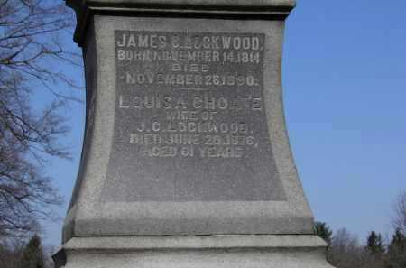 CHOATE LOCKWOOD, LOUISA - Erie County, Ohio | LOUISA CHOATE LOCKWOOD - Ohio Gravestone Photos