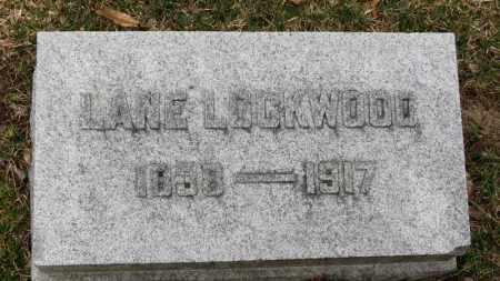 LOCKWOOD, LANE - Erie County, Ohio | LANE LOCKWOOD - Ohio Gravestone Photos