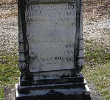 GREGORY LOCKWOOD, E. ANTOINETTE - Erie County, Ohio | E. ANTOINETTE GREGORY LOCKWOOD - Ohio Gravestone Photos