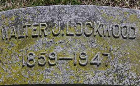 LOCKWOOD, WALTER J. - Erie County, Ohio | WALTER J. LOCKWOOD - Ohio Gravestone Photos