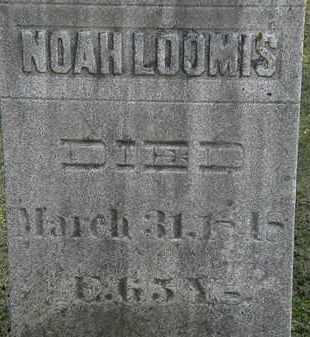 LOOMIS, NOAH - Erie County, Ohio | NOAH LOOMIS - Ohio Gravestone Photos