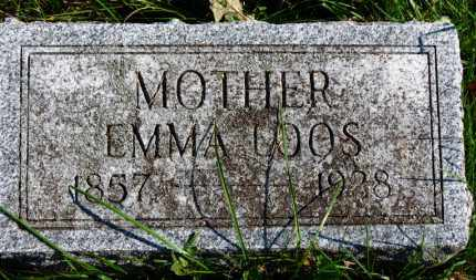 LOOS, EMMA - Erie County, Ohio | EMMA LOOS - Ohio Gravestone Photos