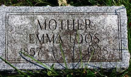 LOOS, EMMA - Erie County, Ohio   EMMA LOOS - Ohio Gravestone Photos