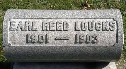 LOUCKS, EARL REED - Erie County, Ohio | EARL REED LOUCKS - Ohio Gravestone Photos