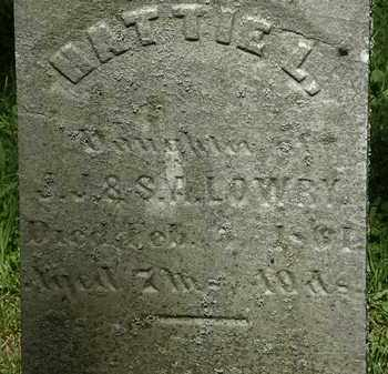 LOWRY, J.J. - Erie County, Ohio | J.J. LOWRY - Ohio Gravestone Photos