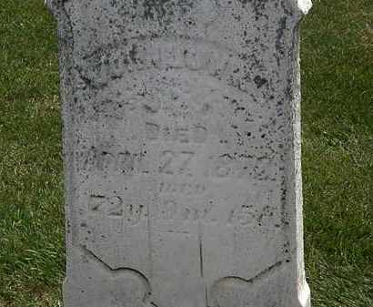 LOWRY, JOHN - Erie County, Ohio | JOHN LOWRY - Ohio Gravestone Photos