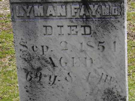 LYMAN M.D., FAY - Erie County, Ohio | FAY LYMAN M.D. - Ohio Gravestone Photos