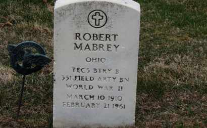 MABREY, ROBERT - Erie County, Ohio | ROBERT MABREY - Ohio Gravestone Photos