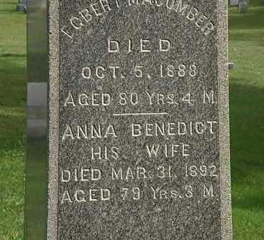 MACOMBER, EGBERT - Erie County, Ohio   EGBERT MACOMBER - Ohio Gravestone Photos