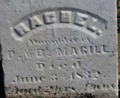 MAGILL, B. - Erie County, Ohio | B. MAGILL - Ohio Gravestone Photos