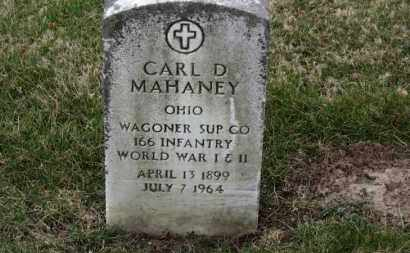 MAHANEY, CARL D. - Erie County, Ohio   CARL D. MAHANEY - Ohio Gravestone Photos