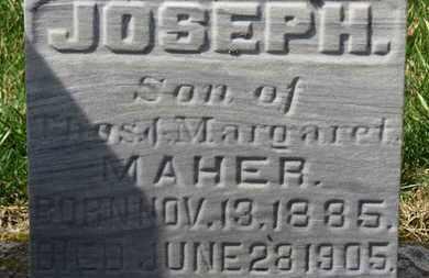 MAHER, JOSEPH - Erie County, Ohio | JOSEPH MAHER - Ohio Gravestone Photos
