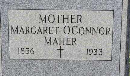 O'CONNER MAHER, MARGARET - Erie County, Ohio | MARGARET O'CONNER MAHER - Ohio Gravestone Photos