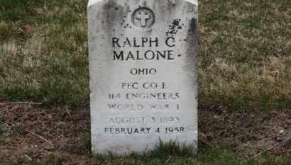 MALONE, RALPH C. - Erie County, Ohio | RALPH C. MALONE - Ohio Gravestone Photos