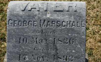 MARSCHALL, GEORGE - Erie County, Ohio | GEORGE MARSCHALL - Ohio Gravestone Photos