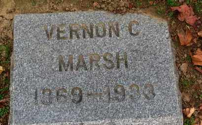 MARSH, VERNON C. - Erie County, Ohio | VERNON C. MARSH - Ohio Gravestone Photos