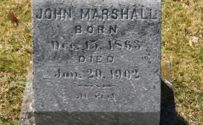 MARSHALL, JOHN - Erie County, Ohio | JOHN MARSHALL - Ohio Gravestone Photos
