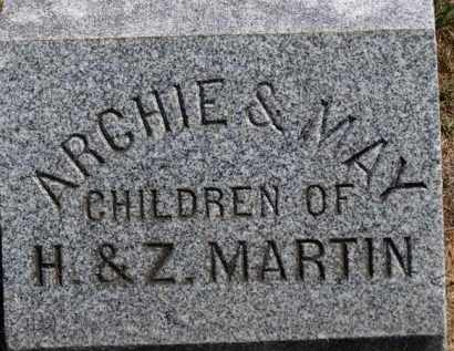MARTIN, MAY - Erie County, Ohio | MAY MARTIN - Ohio Gravestone Photos