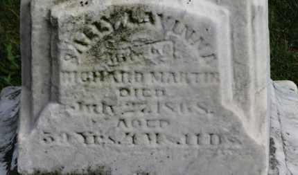 MARTIN, SALLY LAVINNA - Erie County, Ohio | SALLY LAVINNA MARTIN - Ohio Gravestone Photos