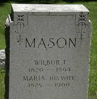 MASON, MARIA - Erie County, Ohio | MARIA MASON - Ohio Gravestone Photos