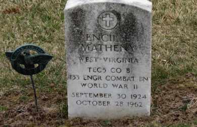 MATHENY, ENCIL L. - Erie County, Ohio | ENCIL L. MATHENY - Ohio Gravestone Photos
