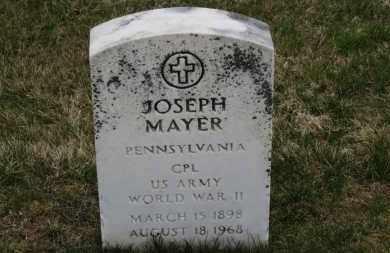 MAYER, JOESEPH - Erie County, Ohio   JOESEPH MAYER - Ohio Gravestone Photos