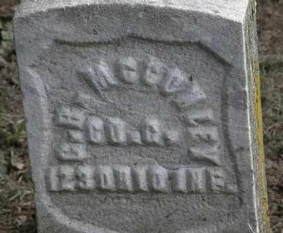 MCCONLEY, G. R. - Erie County, Ohio   G. R. MCCONLEY - Ohio Gravestone Photos