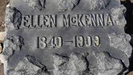 MCKENNA, ELLEN - Erie County, Ohio   ELLEN MCKENNA - Ohio Gravestone Photos