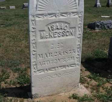 MCKESSON, ISAAC - Erie County, Ohio | ISAAC MCKESSON - Ohio Gravestone Photos