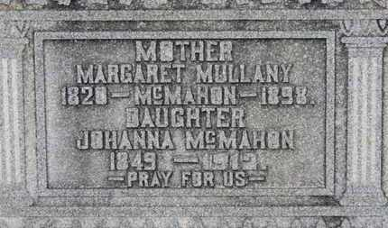 MULLANY MCMAHON, MARGARET - Erie County, Ohio | MARGARET MULLANY MCMAHON - Ohio Gravestone Photos