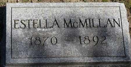 MCMILLAN, ESTELLA - Erie County, Ohio | ESTELLA MCMILLAN - Ohio Gravestone Photos