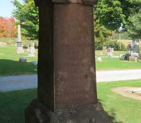 MCQUEEN, A.H. - Erie County, Ohio | A.H. MCQUEEN - Ohio Gravestone Photos
