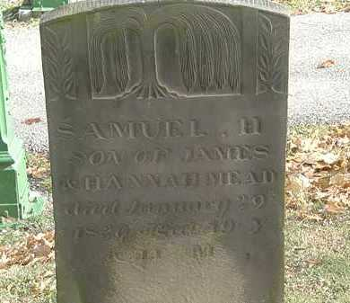 MEAD, JAMES - Erie County, Ohio | JAMES MEAD - Ohio Gravestone Photos