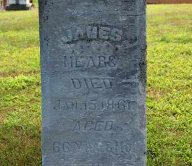 MEARS, JAMES - Erie County, Ohio | JAMES MEARS - Ohio Gravestone Photos