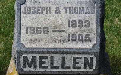 MELLEN, THOMAS - Erie County, Ohio | THOMAS MELLEN - Ohio Gravestone Photos