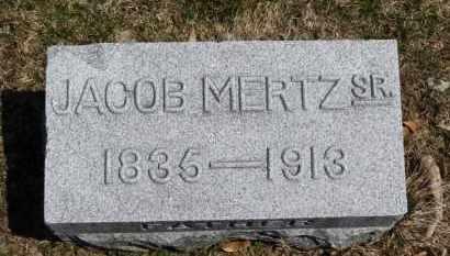 MERTZ, JACOB - Erie County, Ohio | JACOB MERTZ - Ohio Gravestone Photos