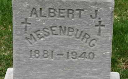 MESENBURG, ALBERT - Erie County, Ohio | ALBERT MESENBURG - Ohio Gravestone Photos