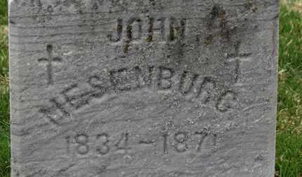 MESENBURG, JOHN - Erie County, Ohio   JOHN MESENBURG - Ohio Gravestone Photos