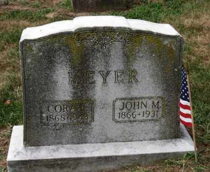 MEYER, JOHN M. - Erie County, Ohio | JOHN M. MEYER - Ohio Gravestone Photos