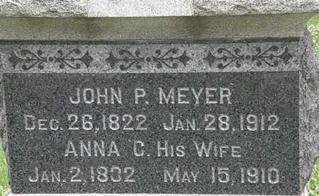MEYER, ANNA C. - Erie County, Ohio | ANNA C. MEYER - Ohio Gravestone Photos