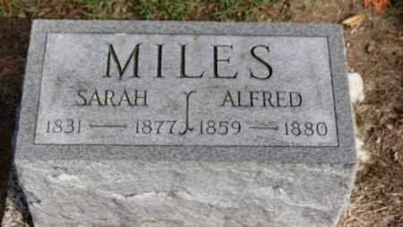 MILES, SARAH - Erie County, Ohio | SARAH MILES - Ohio Gravestone Photos