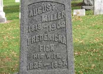 FICK MILLER, FREDERICKA - Erie County, Ohio | FREDERICKA FICK MILLER - Ohio Gravestone Photos