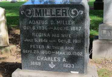 MILLER, CHARLES A. - Erie County, Ohio | CHARLES A. MILLER - Ohio Gravestone Photos