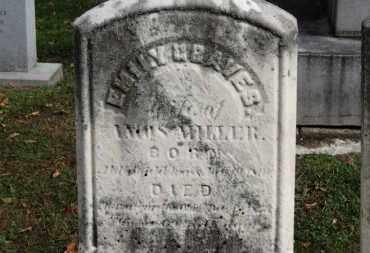 MILLER, EMILY - Erie County, Ohio   EMILY MILLER - Ohio Gravestone Photos