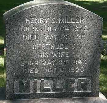 MILLER, GERTRUDE C. - Erie County, Ohio | GERTRUDE C. MILLER - Ohio Gravestone Photos