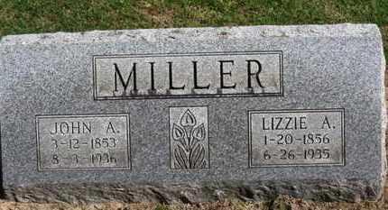 MILLER, JOHN A. - Erie County, Ohio   JOHN A. MILLER - Ohio Gravestone Photos