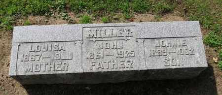 MILLER, LOUISA - Erie County, Ohio | LOUISA MILLER - Ohio Gravestone Photos